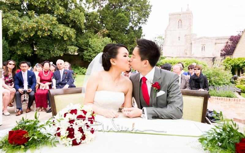 Wedding photography at Le Manoir Aux Quat'Saisons