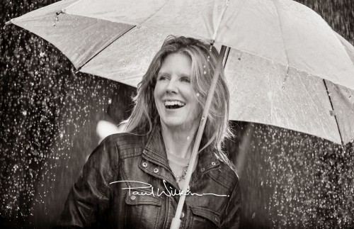 Portrait photography in the rain is always entertaining!