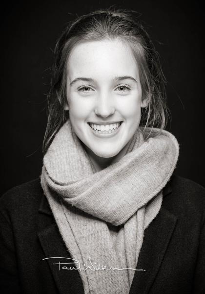 Teenage Portrait, Studio Portrait