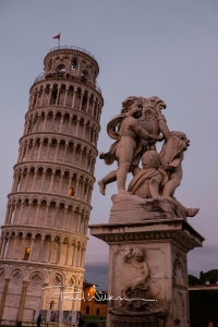 Pisa, Italy, At Night