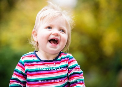 Hattie seemed to love the shoot - didn't stop laughing throughout!