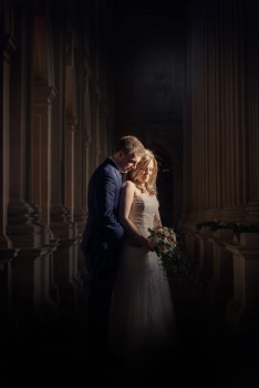 Isabella and Simon's Wedding was stunning - and just look at the light!